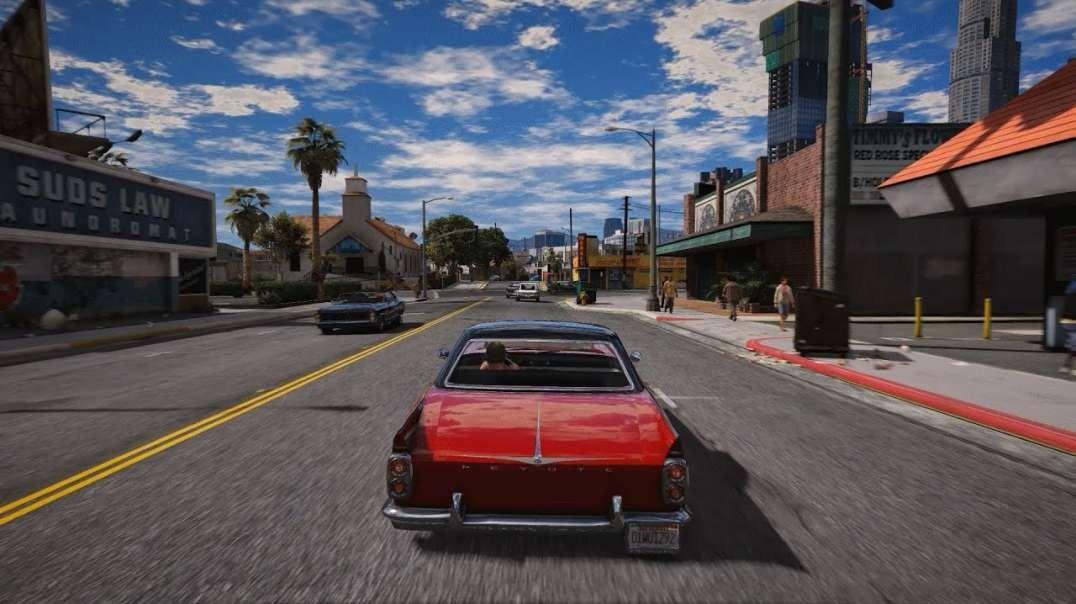 GTA V 2019 Cars Gameplay FULLHD 60FPS ULTRA REALISTIC Graphics MOD