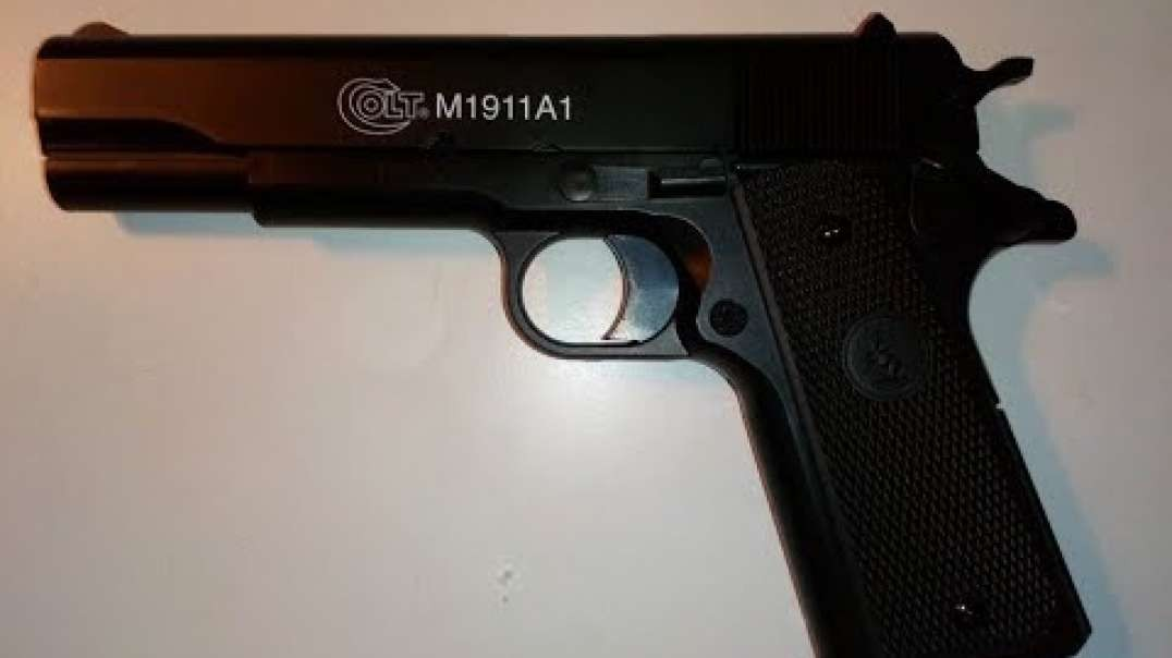 How to load the Colt M1911 A1 Airsoft Pistol