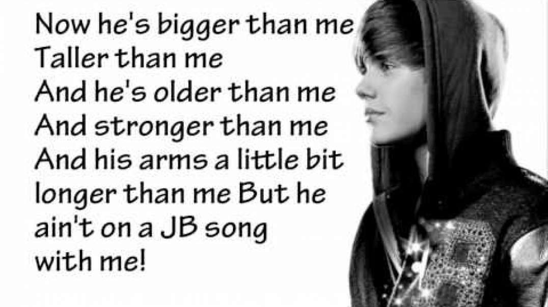 Justin Bieber - Never Say Never - Lyrics.webm